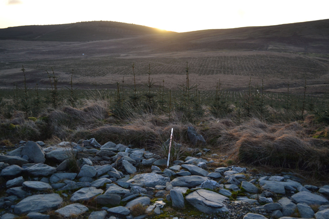 Site 126 again shows sunrise at 09.07 on South-west flank of Hitteril
