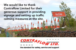 Thanks to Contraflow Traffic Management