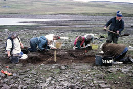 Daer Reservoir Excavations