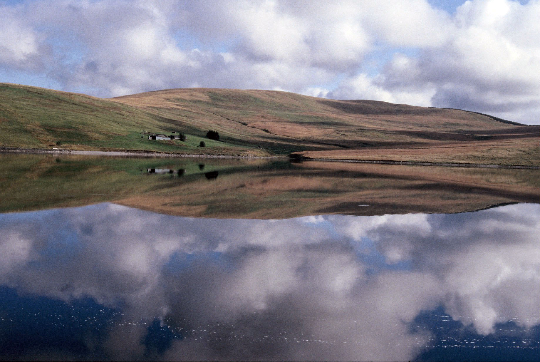 Daer Reservoir full in 2009